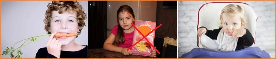 норма калорий в день для детей