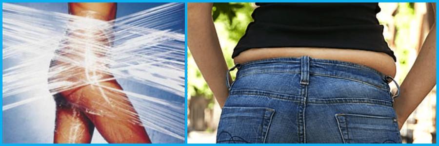 обертывание для похудения в боках