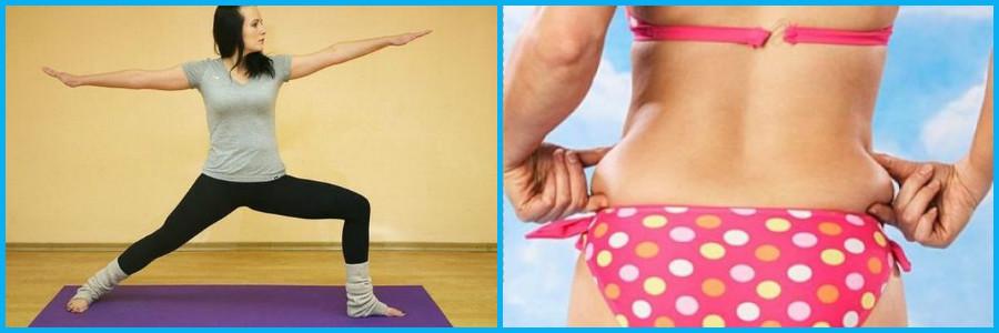 йога для похудения в боках