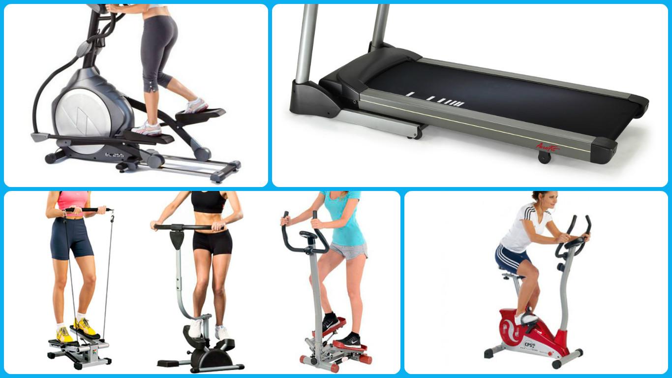 виды домашних тренажеров для похудения